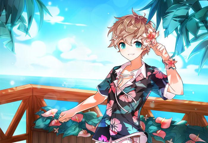 花卉假期《艾尔之光》度假风时装 来一起享受悠闲的假期吧