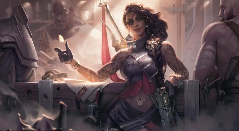 《英雄联盟》莎弥拉技能详细预览公开 可向敌方撒币挑衅