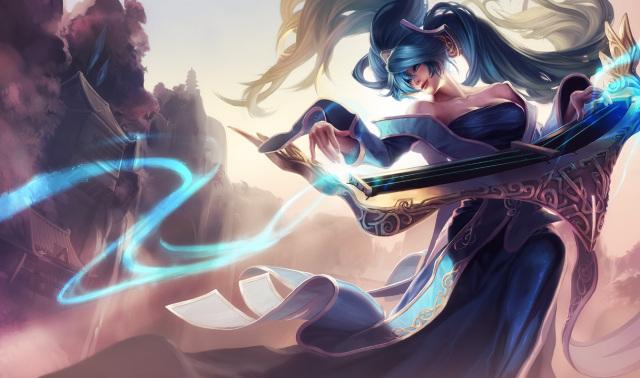 《英雄联盟》琴女娑娜背景故事公开:最后的演出!