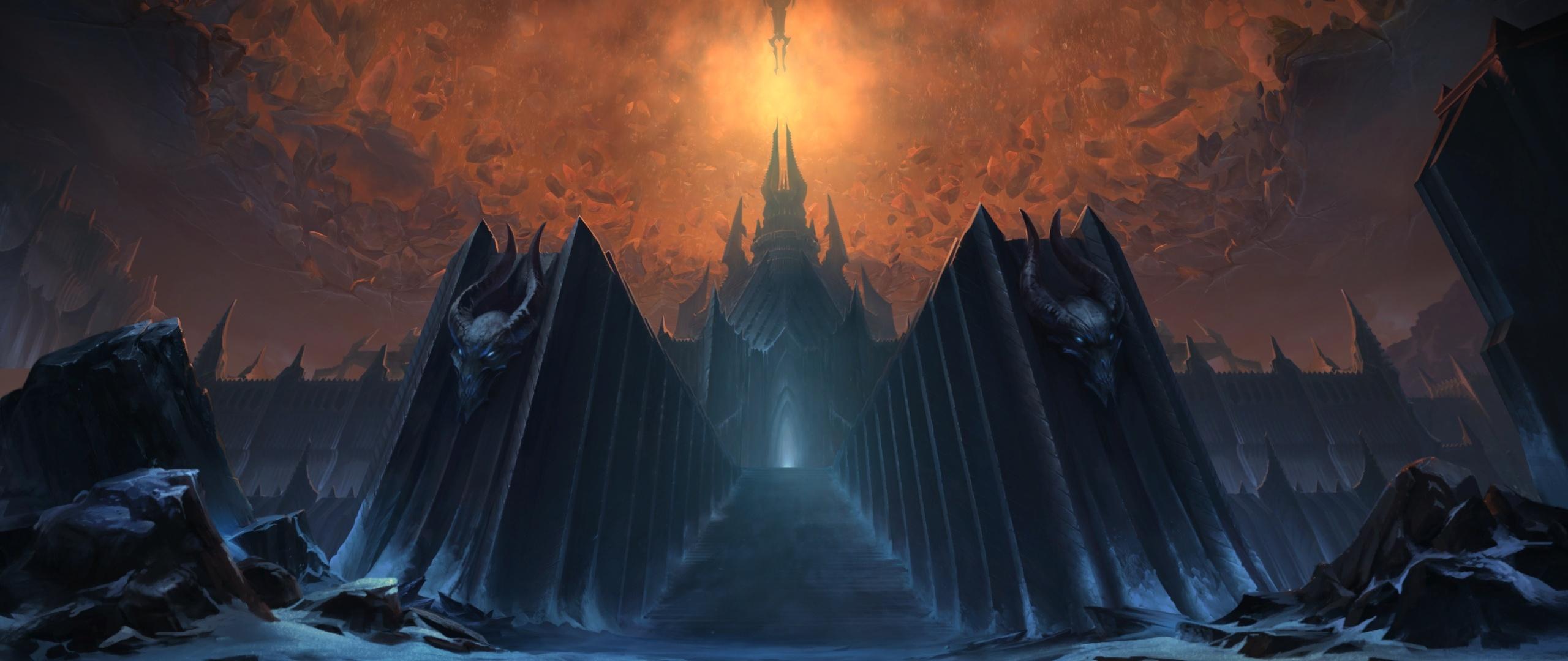 《魔兽世界:暗影国度》登陆界面曝光 冰冠堡垒
