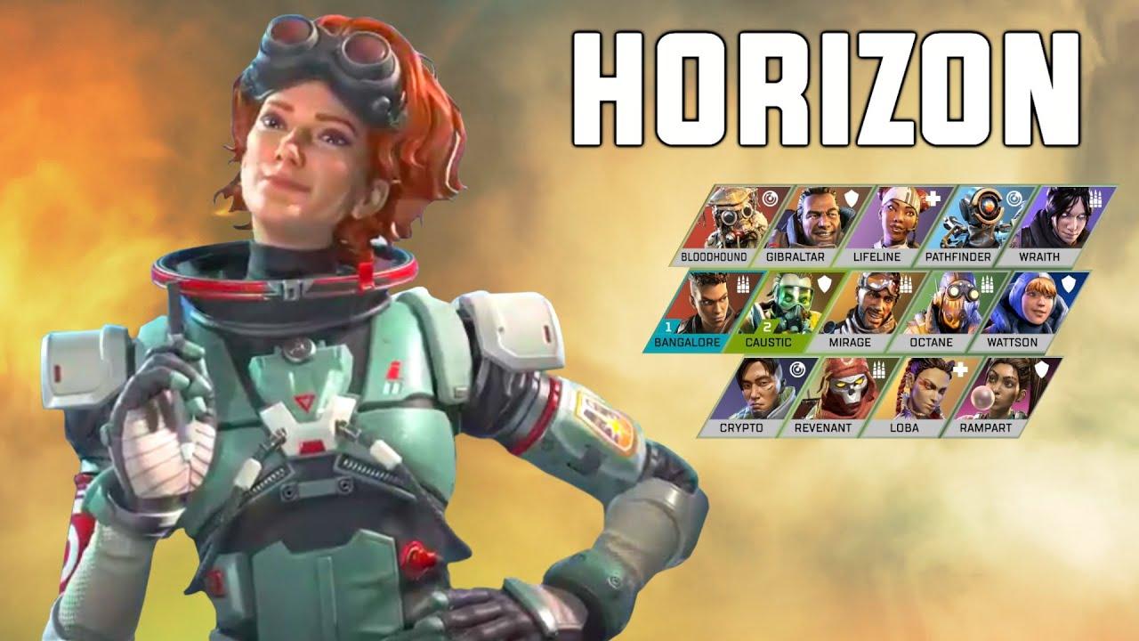 重力操控?《Apex英雄》第七赛季新角色Horizon曝光