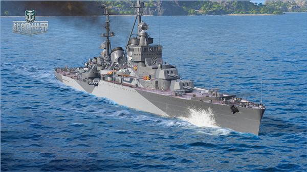 迅猛八炮闪击四海《战舰世界》S系巡洋舰奥恰科