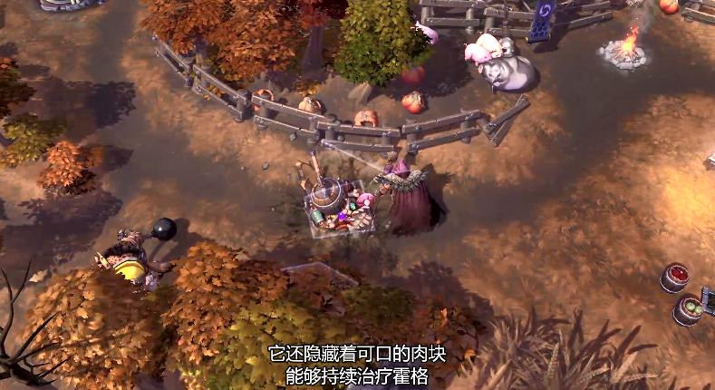 《风暴英雄》豺狼人霍格介绍影像:中距离范围攻击斗士!