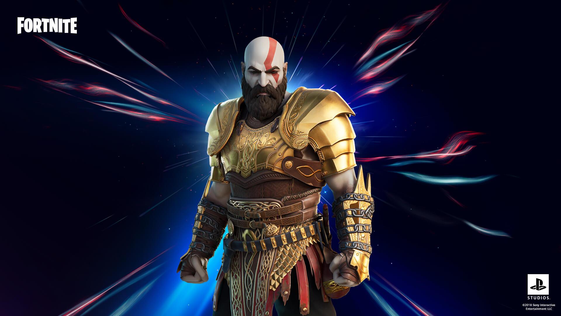 《战神》《堡垒之夜》确认联动 PS5平台有独占外观