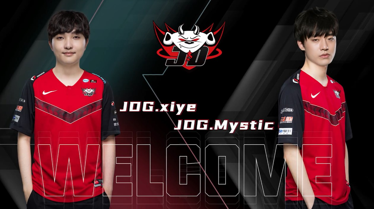 官宣:xiye和Mystic正式加入JDG战队!
