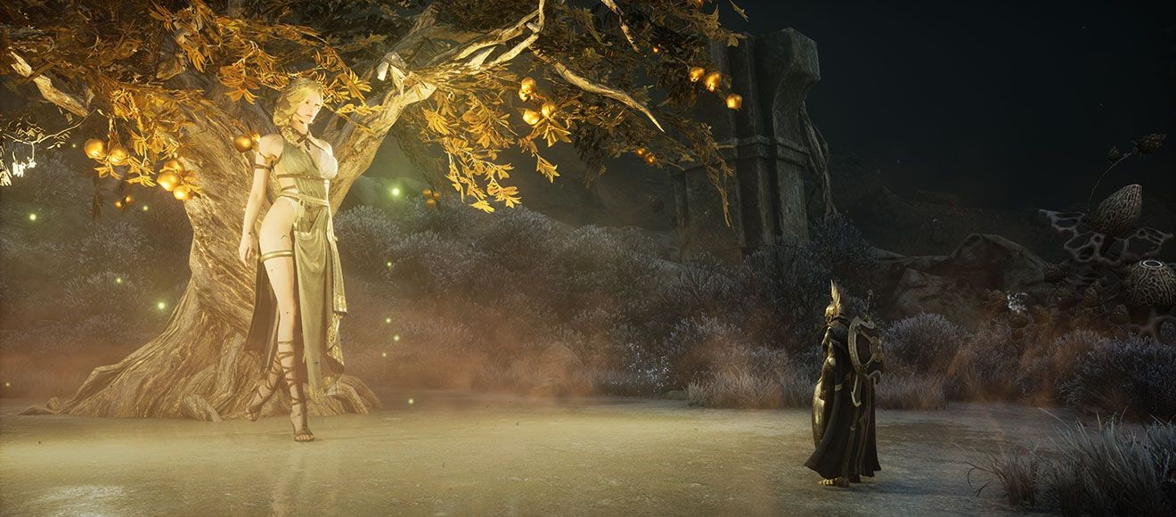 韩国MMORPG《奥丁:神叛》新画面 神灵与怪物亮相