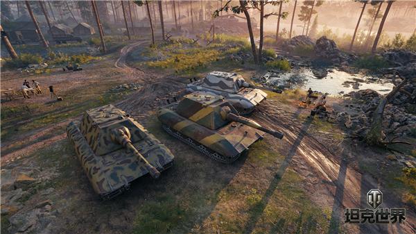 战术小队完美搭配《坦克世界》组队2.0开启便捷新社交