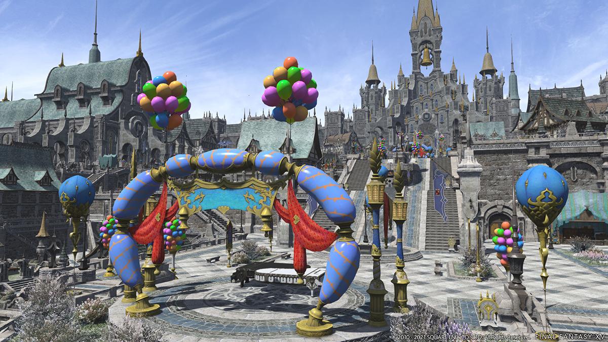 《最终幻想14》国际服5.5版本新截图公布 展示更多细节