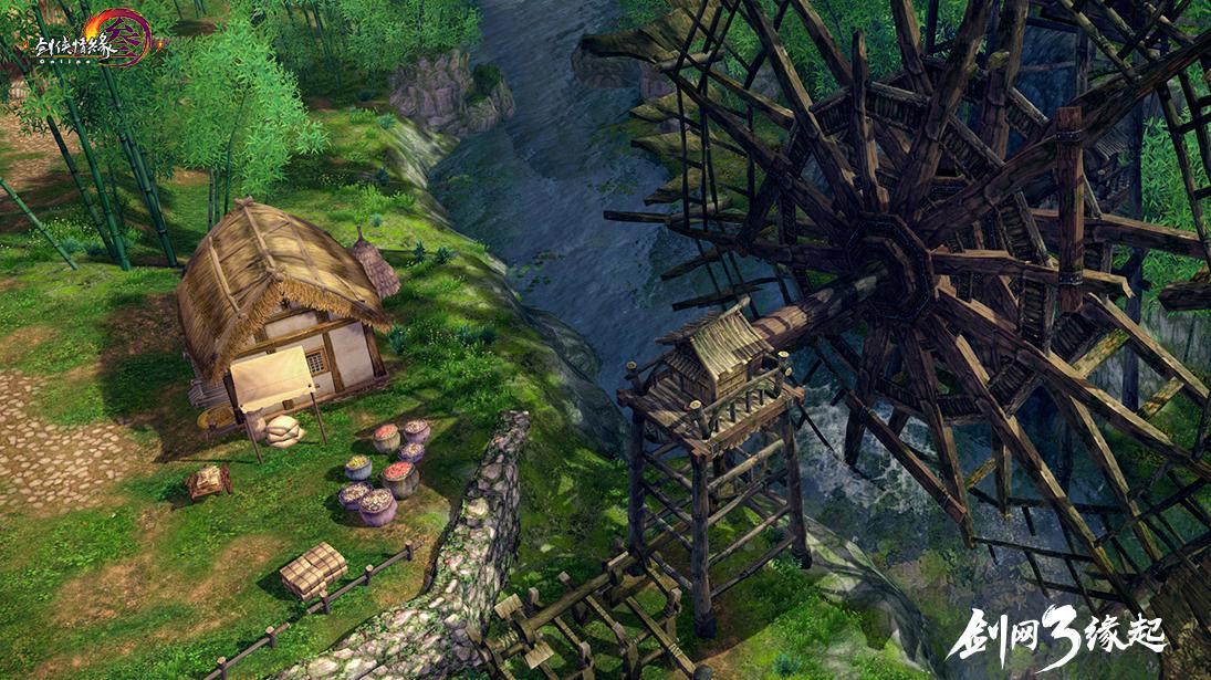 《剑网3缘起》重磅爆料 打造平行世界未来可期