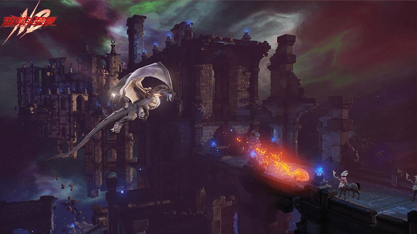 《超激斗梦境》预下载今日启动 游戏新CG震撼上线
