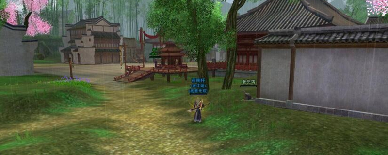 剑网3怎么去金水镇