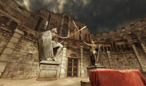 《生死狙击2》角斗场全景图展示介绍