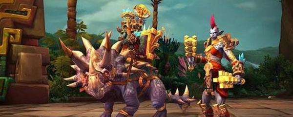 魔兽世界8.3战士种族排名图片