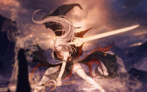 《DNF》上帝的意象和卡西姆的大剑对比