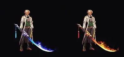 《DNF》枪剑士苍龙舞空装扮外观预览
