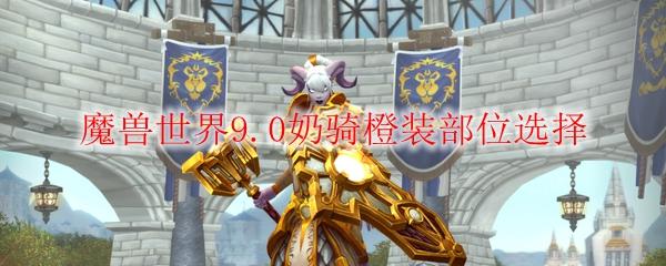 魔兽世界9.0奶骑橙装部位选择