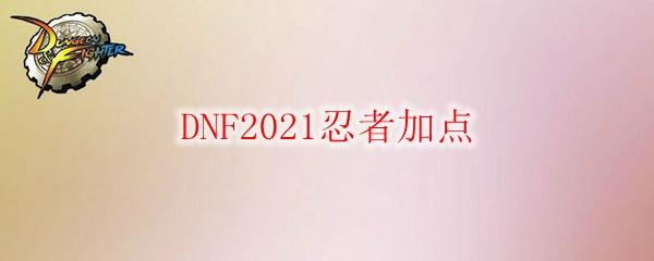 DNF2021忍者加点