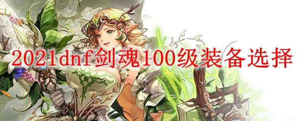 2021dnf剑魂100级装备选择