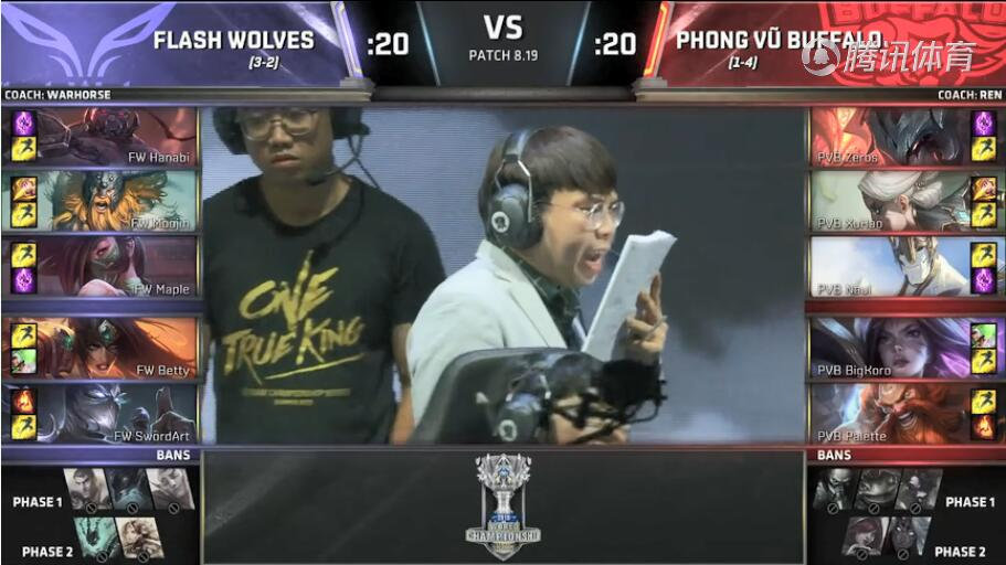 LOLS8总决赛10月15日FW VS PVB比赛视频回顾