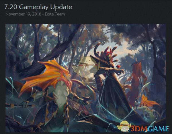 《DOTA2》新7.20版本综合改动一览