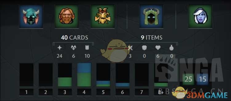 《Artifact》新手卡组构筑指南