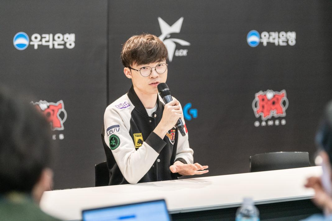 Faker赛后接受韩媒采访:击败GRF等于拿到了晋级决赛的门票
