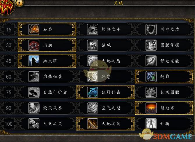 《魔兽世界》8.15增强萨PVE攻略