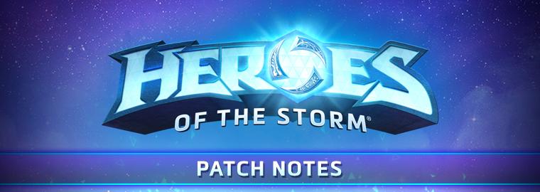 《风暴英雄》2019年3月18日测试服更新说明