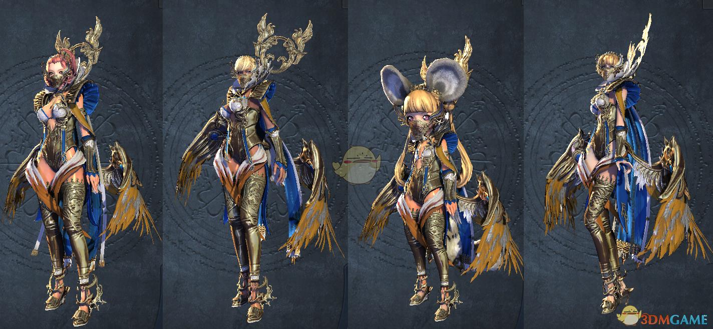 《剑灵》天雷系列时装造型一览