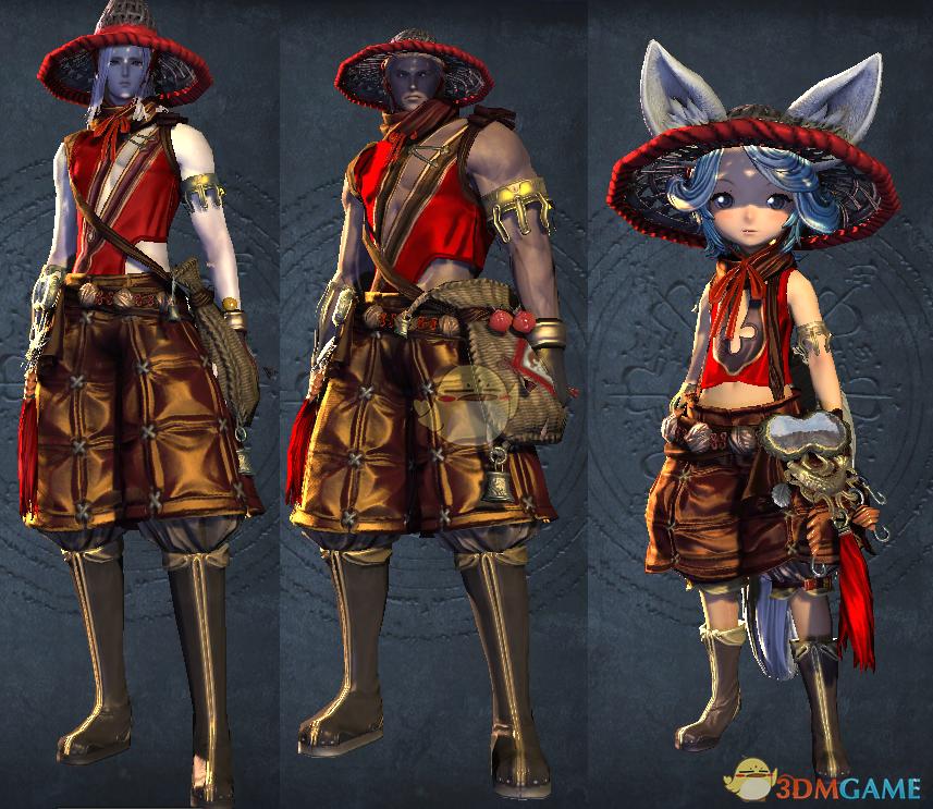 《剑灵》钓鱼名人系列时装造型一览