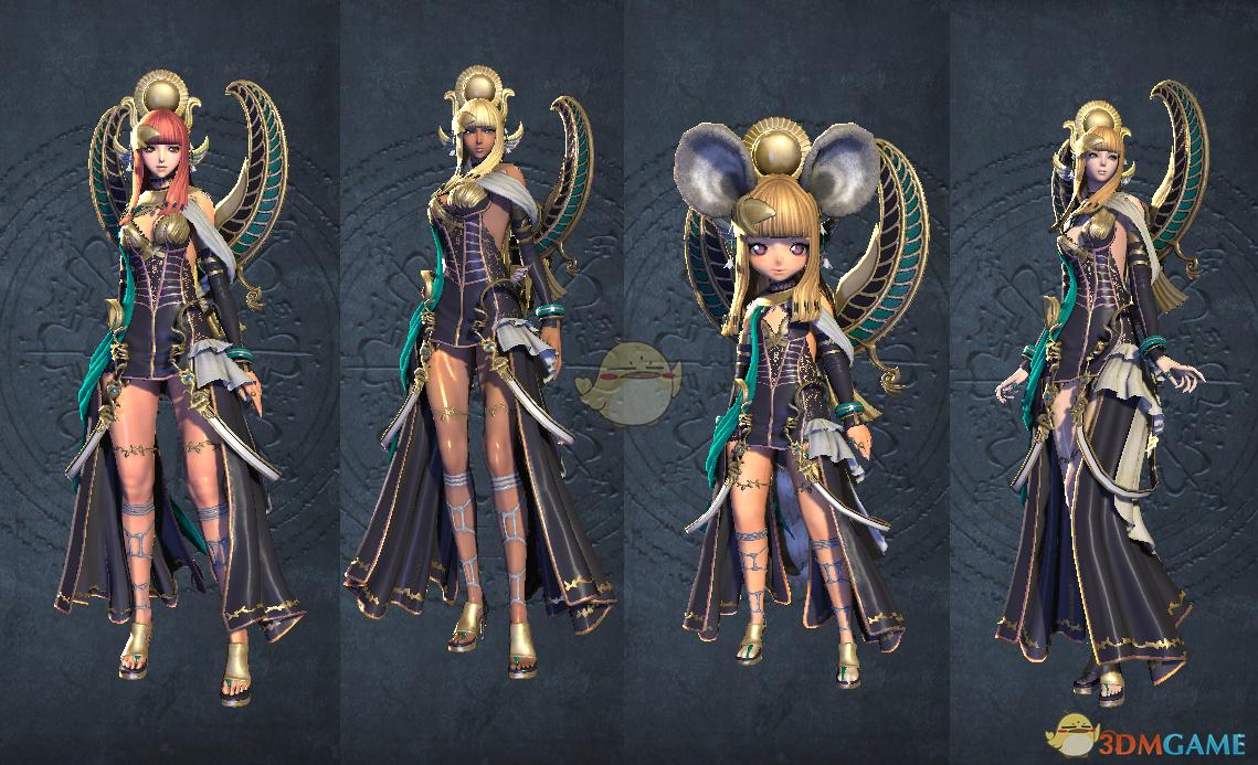 《剑灵》阿努比斯时装套装外观