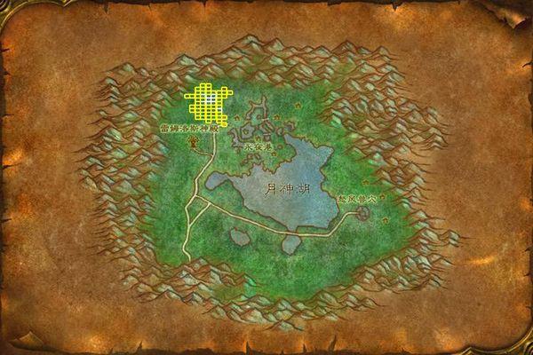 《魔兽世界》怀旧服巨熊之灵位置坐标介绍