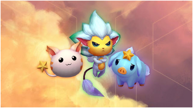 《LOL》云顶之弈第四系列小小英雄 星之守护者外观一览