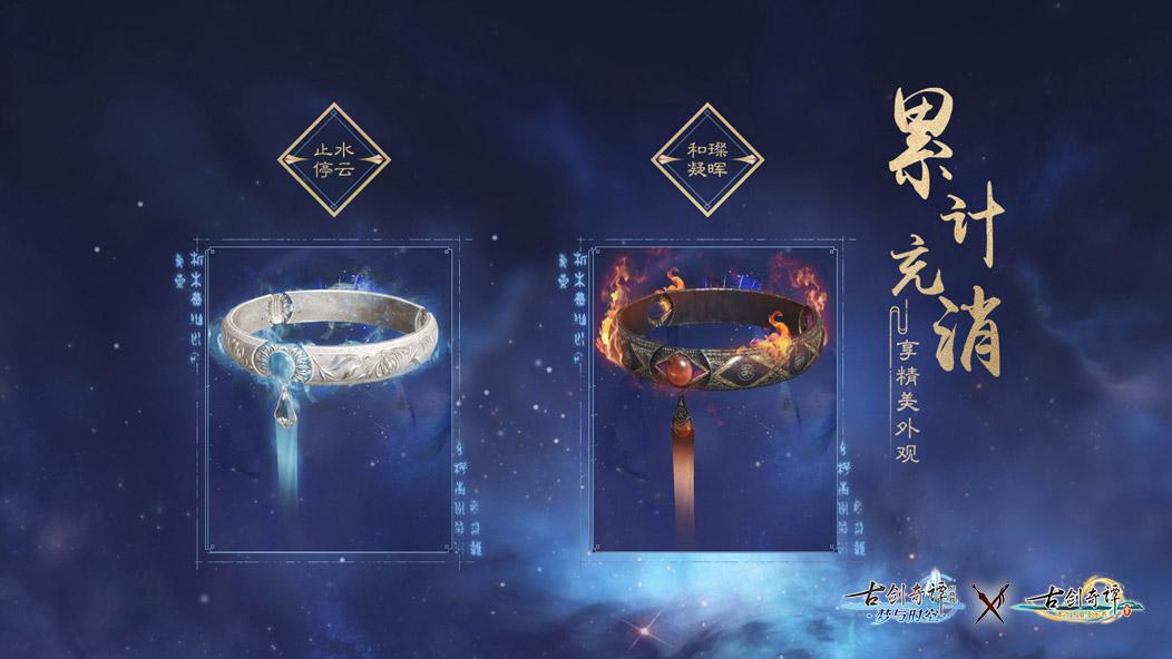 《古剑奇谭OL》11月充消奖励一览