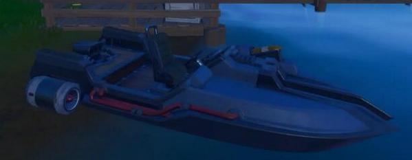 《堡垒之夜》摩托艇火圈位置介绍