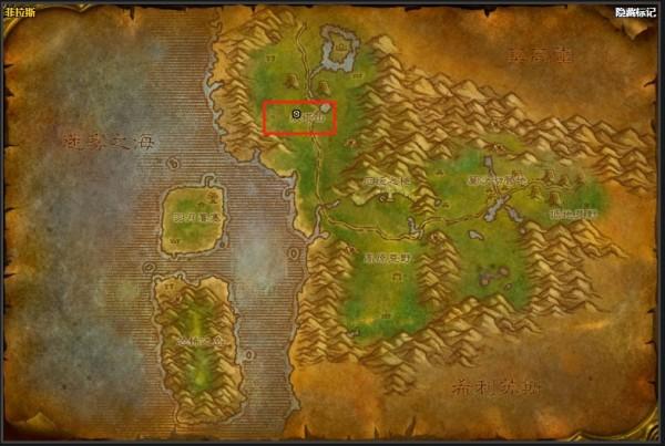 《魔兽世界》怀旧服菲拉斯风蛇位置介绍