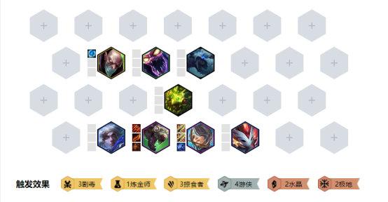《LOL》云顶之弈10.3掠食者4游侠阵容搭配