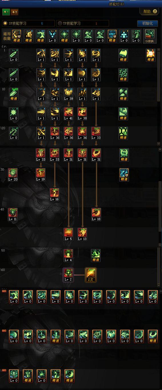 《DNF》黑暗武士100级技能加点攻略