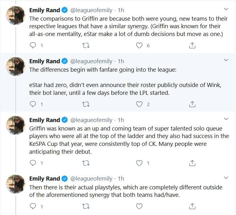 《LOL》ESPN记者EmilyRand:ES和GRF相似但完全不同