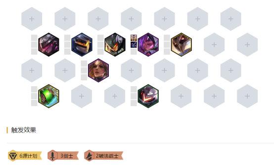 《LOL》云顶之弈10.7新版本源计划阵容搭配