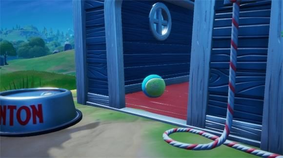 《堡垒之夜》在蚁屋中在不同的狗玩具上弹跳完成攻略