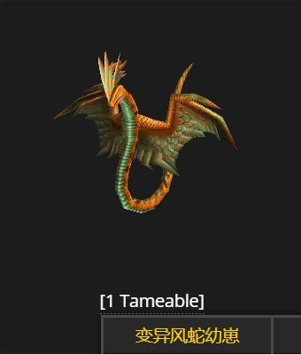 魔兽世界tbc风蛇哪里抓